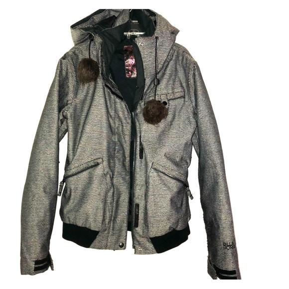 buy popular af8f5 aae57 Billabong Tweed Ski Snowboard Jacket